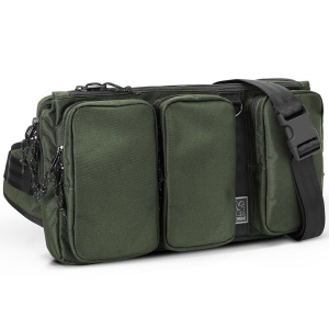 CHROME / MXD LINK SLING BAG (OLIVE)