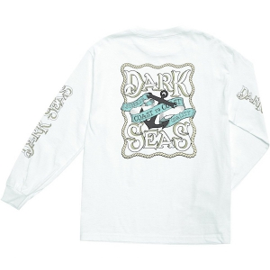 DARK SEAS / CRUSADE L/S STOCK TEE (WHITE)