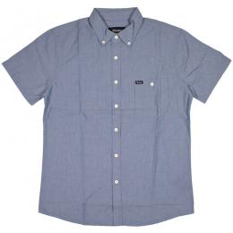 BRIXTON / CENTRAL S/S WOVEN (LIGHT BLUE CHAMBRAY)