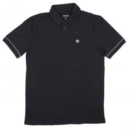 BRIXTON / CARLOS S/S POLO KNIT (BLACK)