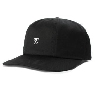 BRIXTON / B-SHIELD III CAP (BLACK)