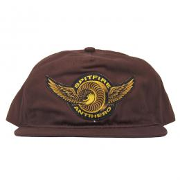 SPIT FIRE × ANTI HERO / LTD CLASSIC EAGLE SNAPBACK CAP (DARK BROWN)