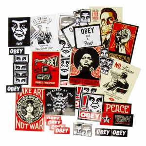 OBEY / STICKER PACK 4 (ASSORTED)