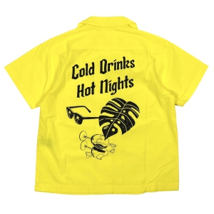 OBEY / SOLAS SHIRT (LEMON)