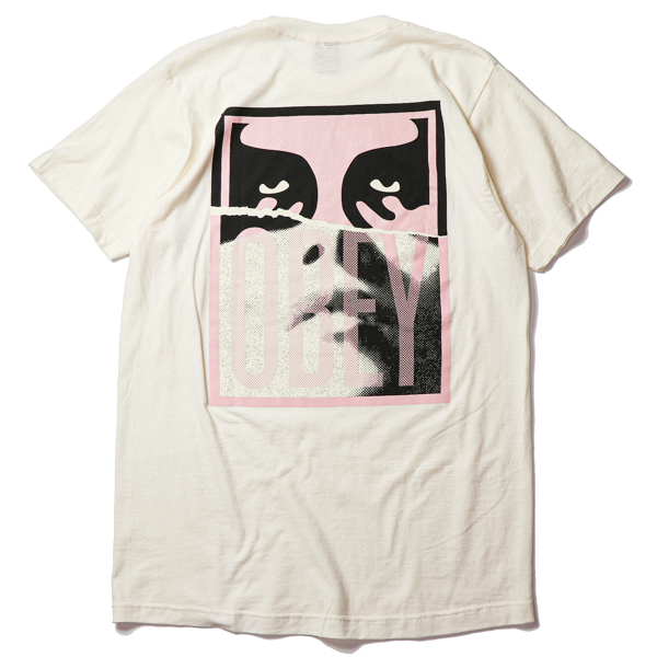 OBEY / OBEY NOIR WOMAN ICON BASIC TEE (NATURAL)