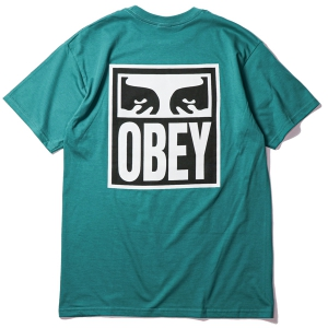 OBEY / OBEY EYES ICON 2 TEE (TEAL)