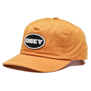OBEY / STRUGGLER STRAPBACK CAP (MINERAL YELLOW)