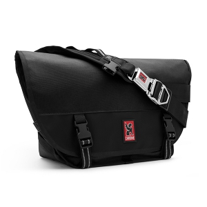 CHROME / MINI METRO MESSENGER BAG (BLACK/BLACK)