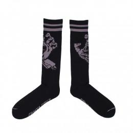 SANTA CRUZ / HAND TALL SOCKS (BLACK)