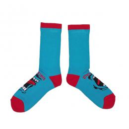 SANTA CRUZ / SCREAMING CREW SOCKS (BLUE)