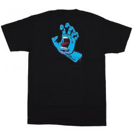 SANTA CRUZ / SCREAMING HAND TEE (BLACK)