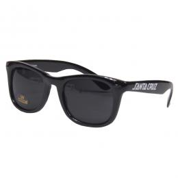 SANTA CRUZ / STRIP SHADES SUNGLASSES (BLACK)