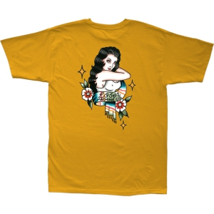 LOSER MACHINE / MI AMANTE STOCK TEE (GOLD)