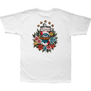 LOSER MACHINE / LMC X PBR TROPICAL STOCK TEE (WHITE)