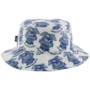 LOSER MACHINE / LMC X PBR BUCKET HAT (WHITE)