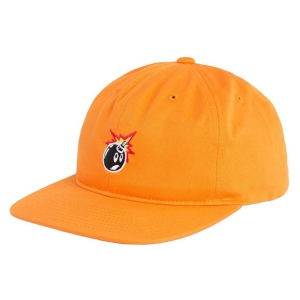 THE HUNDREDS / CRATE SNAPBACK CAP (ORANGE)
