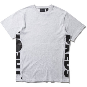 THE HUNDREDS / SIDEWAYS TEE (ASH HEATHER)