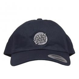 SANTA CRUZ / OTHER DOT ADJUSTABLE 6-PANEL CAP (NAVY)