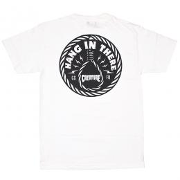 CREATURE / HANG IN THERE TEE (WHITE)