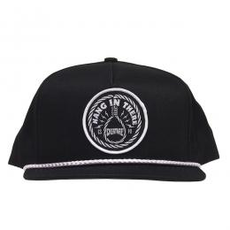 CREATURE / HANG IN THERE SNAPBACK CAP (BLACK)
