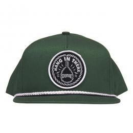CREATURE / HANG IN THERE SNAPBACK CAP (KELLY GREEN)