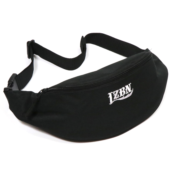 LZBN / EMB LOGO WAIST BAG (BLACK)