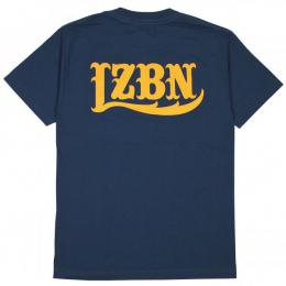 LZBN / LZBN BACK LOGO TEE (HARBOR BLUE)