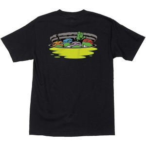 SANTA CRUZ X TMNT / NINJA TURTLES TEE (BLACK)
