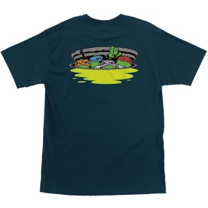 SANTA CRUZ X TMNT / NINJA TURTLES TEE (HARBOR BLUE)