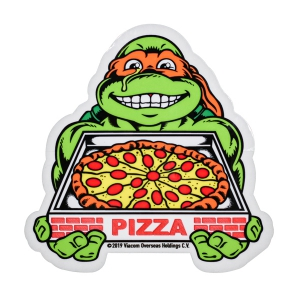 SANTA CRUZ X TMNT / MICHELANGELO STICKER
