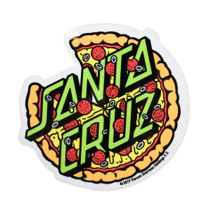 SANTA CRUZ X TMNT / PIZZA DOT STICKER