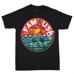 FAMOUS STARS AND STRAPS / SKULL ISLAND TEE (BLACK)