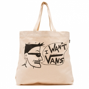 VANS / I WANT VANS TOTE BAG (NATURAL)