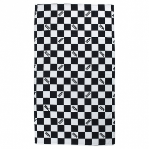 VANS / CHECKERBOARD BEACH TOWEL (BLACK/WHITE CHECK)