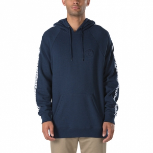 VANS / VANS X SPITFIRE TAPED PULLOVER HOODIE (DRESS BLUES)