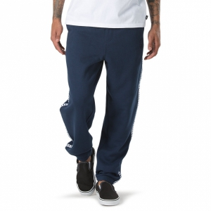 VANS / VANS X SPIT FIRE FLEECE PANT (DRESS BLUES)