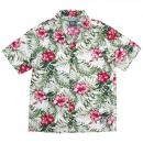 SILLY GOOD / IVY ALOHA S/S SHIRT (WHITE)