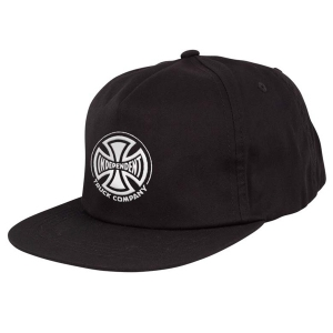 INDEPENDENT / TRUCK CO. EMBROIDERY SNAPBACK CAP (BLACK)