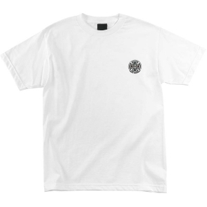 INDEPENDENT / TRUCK CO. EMBROIDERY TEE (WHITE)