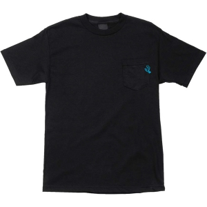 SANTA CRUZ / POCKET HAND POCKET TEE (BLACK)