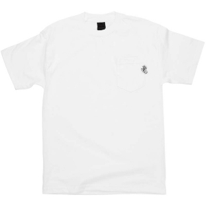 SANTA CRUZ / POCKET HAND POCKET TEE (WHITE)