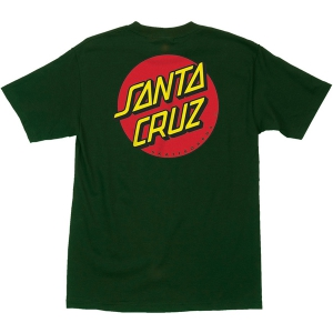 SANTA CRUZ / CLASSIC DOT TEE (FOREST GREEN)