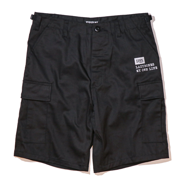 LZBN / TYPE CARGO SHORT (BLACK)