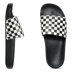 "VANS / SLIDE-ON (""CHECKERBOARD""WHITE)"