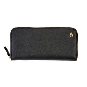 NIXON / MOOR II WALLET (BLACK/GOLD)