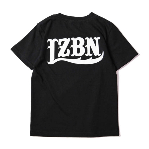 LZBN / LZBN BACK LOGO KIDS TEE (BLACK)