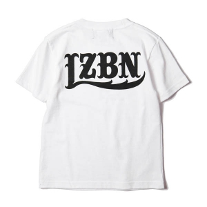 LZBN / LZBN BACK LOGO KIDS TEE (WHITE)