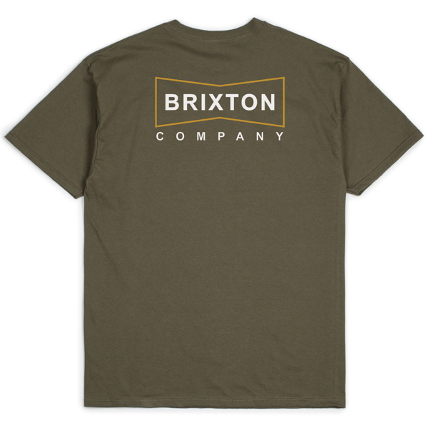 BRIXTON / WEDGE S/S STANDARD TEE (OLIVE)