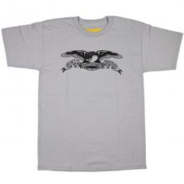 ANTI HERO / BASIC EAGLE TEE (SILVER)