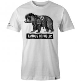 FAMOUS STARS AND STRAPS / FAMOUS REPUBLIC TEE (WHITE)